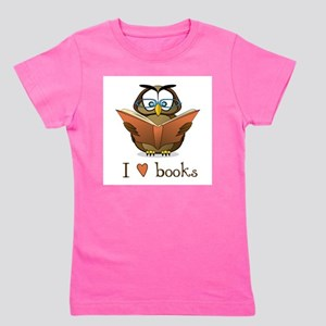 Book Owl I Love Books T-Shirt