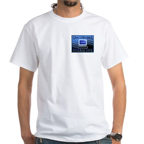 GraceWorks Interactive White T-Shirt