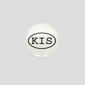 KIS Oval Mini Button