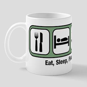 Eat, Sleep, Fish Mug