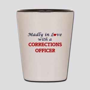 Madly in love with a Corrections Office Shot Glass