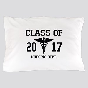 Class Of 2017 Nursing Dept Pillow Case