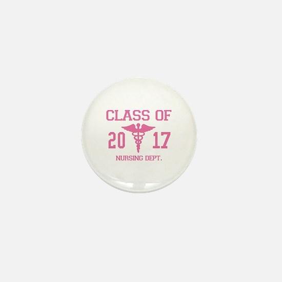 Class Of 2017 Nursing Dept Mini Button