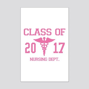 Class Of 2017 Nursing Dept Mini Poster Print