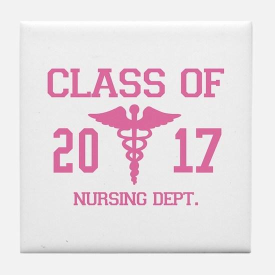 Class Of 2017 Nursing Dept Tile Coaster