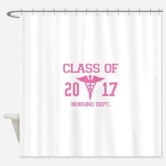Class Of 2017 Nursing Dept Shower Curtain