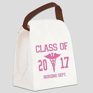 Class Of 2017 Nursing Dept Canvas Lunch Bag