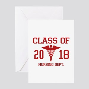 Class Of 2018 Nursing Dept Greeting Card