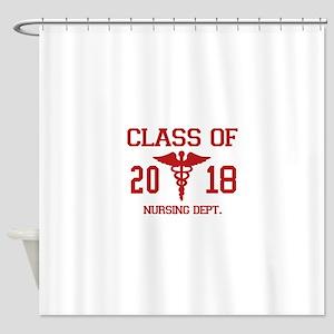 Class Of 2018 Nursing Dept Shower Curtain