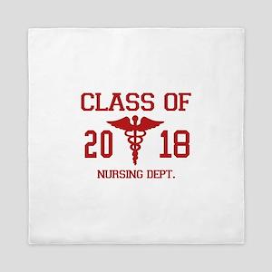 Class Of 2018 Nursing Dept Queen Duvet