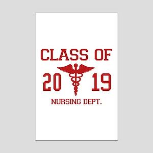 Class Of 2019 Nursing Dept Mini Poster Print