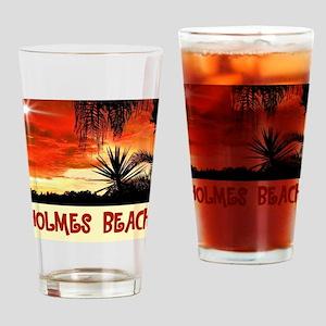 Holmes Beach Drinking Glass