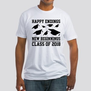 Class Of 2018 Fitted T-Shirt