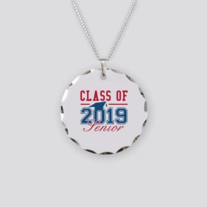 Class Of 2019 Senior Necklace Circle Charm