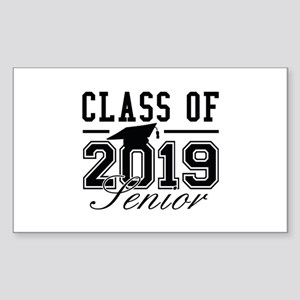 Class Of 2019 Senior Sticker (Rectangle)