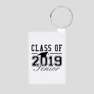 Class Of 2019 Senior Aluminum Photo Keychain
