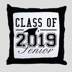 Class Of 2019 Senior Throw Pillow