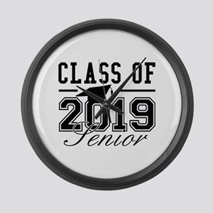 Class Of 2019 Senior Large Wall Clock