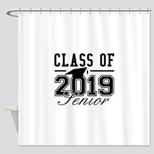 Class Of 2019 Senior Shower Curtain