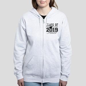 Class Of 2019 Senior Women's Zip Hoodie
