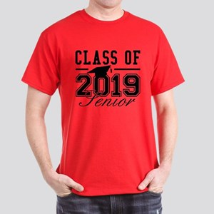 6cdda53608e0 Class Of 2019 Senior Dark T-Shirt