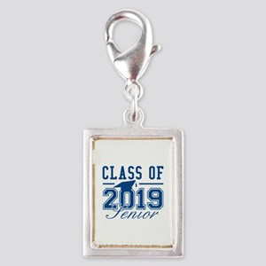 Class Of 2019 Senior Silver Portrait Charm