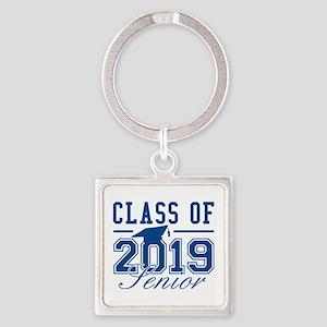 Class Of 2019 Senior Square Keychain
