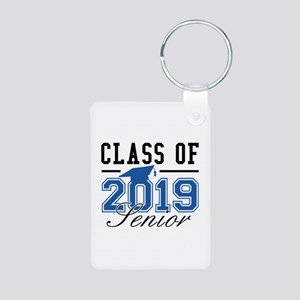 Class Of 2019 Senior Aluminum Photo Keychain