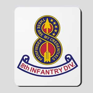 8th Infantry Division<BR> Mousepad 2