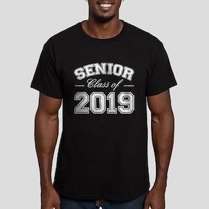 Class Of 2019 Senior Men's Fitted T-Shirt (dark)