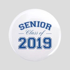 """Class Of 2019 Senior 3.5"""" Button"""