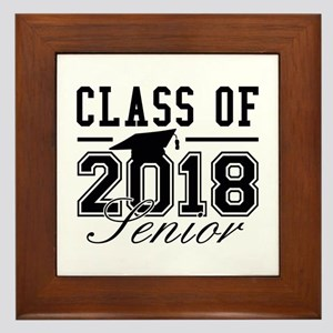 Class Of 2018 Senior Framed Tile