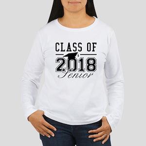 Class Of 2018 Senior Women's Long Sleeve T-Shirt