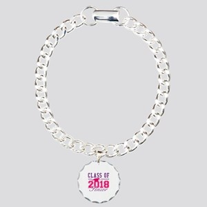 Class Of 2018 Senior Charm Bracelet, One Charm
