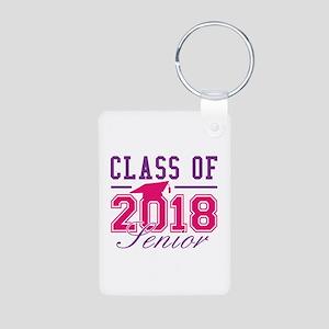 Class Of 2018 Senior Aluminum Photo Keychain