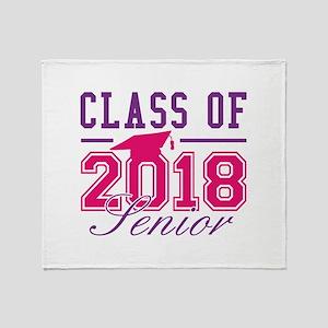 Class Of 2018 Senior Stadium Blanket