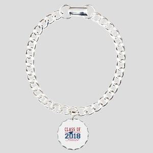 Class Of 2018 Senior Charm Bracelet, One Charm
