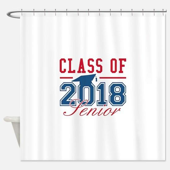 Class Of 2018 Senior Shower Curtain