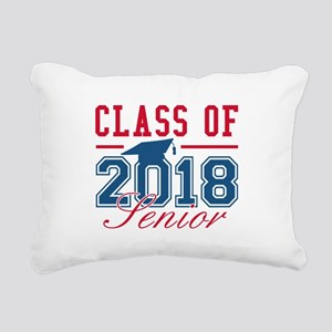 Class Of 2018 Senior Rectangular Canvas Pillow