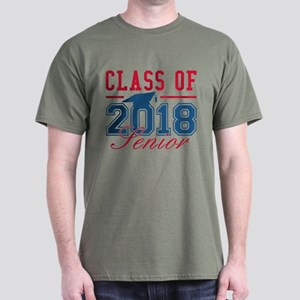 Class Of 2018 Senior Dark T-Shirt