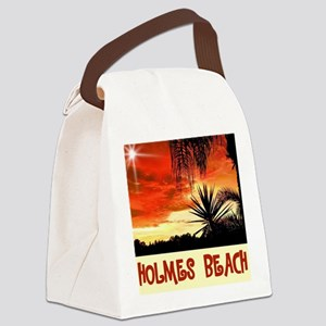 Holmes Beach Canvas Lunch Bag