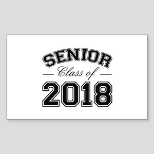 Class Of 2018 Senior Sticker (Rectangle)
