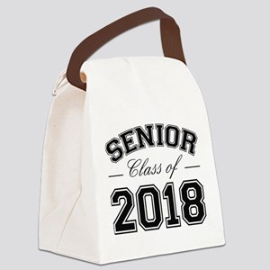 Class Of 2018 Senior Canvas Lunch Bag