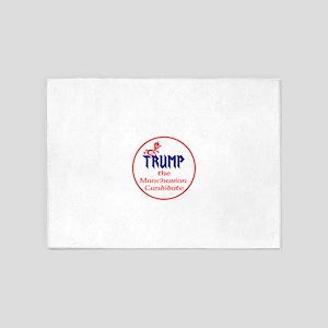 Trump, the Manchurian cadndidate 5'x7'Area Rug