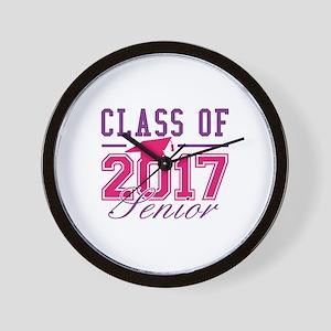 Class Of 2017 Senior Wall Clock