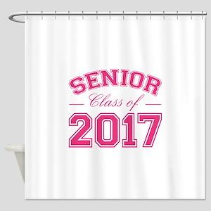 Class Of 2017 Senior Shower Curtain