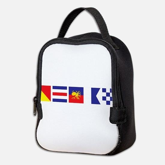 Say it for the Oceans Neoprene Lunch Bag