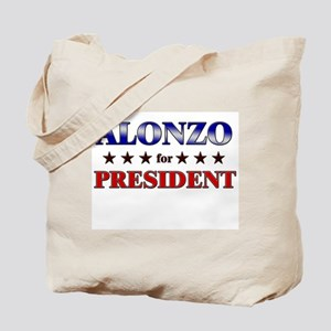 ALONZO for president Tote Bag