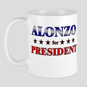 ALONZO for president Mug