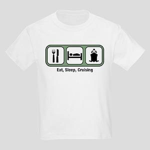 Eat, Sleep, Cruising Kids Light T-Shirt